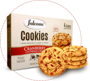 Cookies, i maxi biscotti made in italy al cranberry con farina di mais