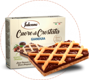 Cuor di crostata gianduia